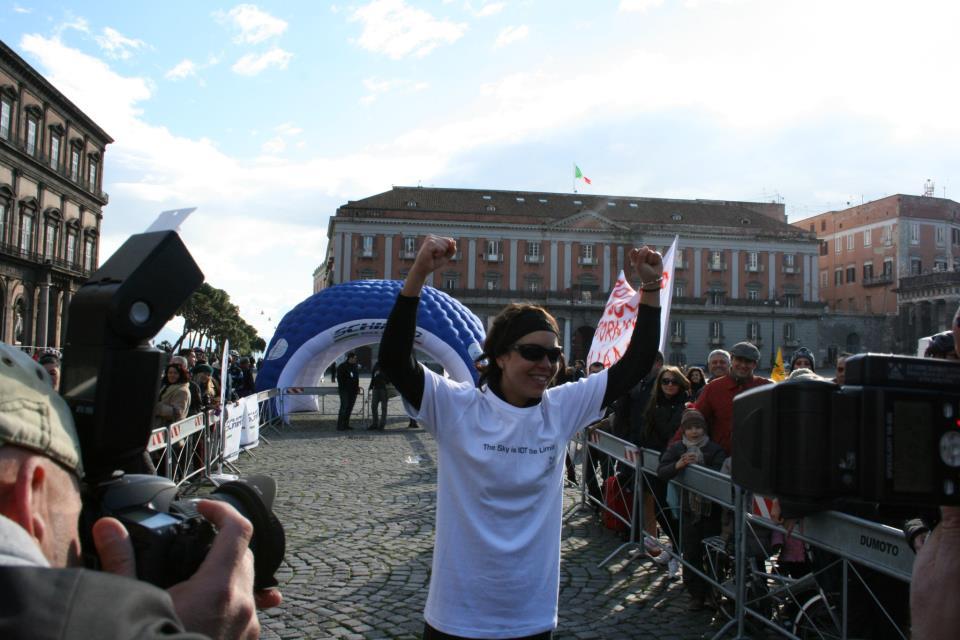 Juliana Buhring e Pegasus arrivano a Napoli
