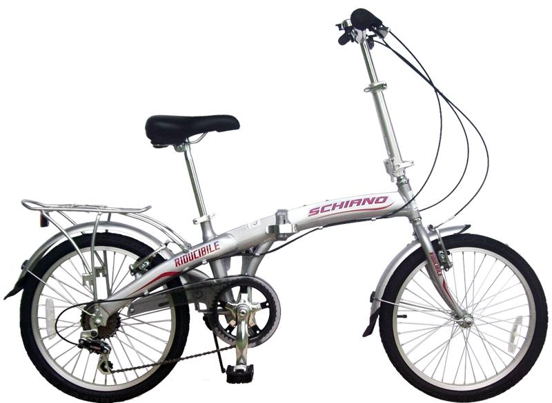 Bici Pieghevole In Alluminio.Mario Schiano Bici Pieghevole